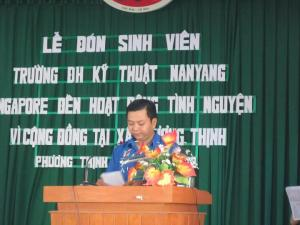Welcome Ceremony in Phuong Thinh commune   – The peolpe committee