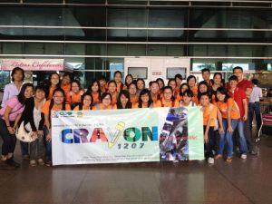 The meeting at Tan Son Nhat airport