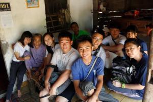 Visiting poor households